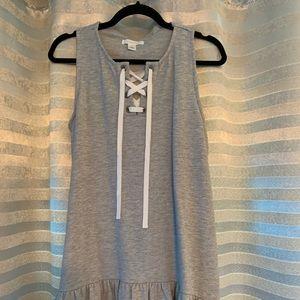 Caslon Gray Knit Dress